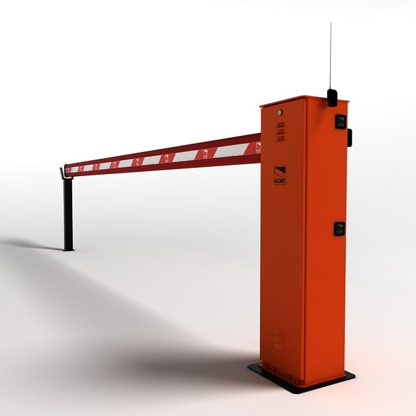 Le Meilleur Automatic Road Barrier 3D Model Ce Mois Ci