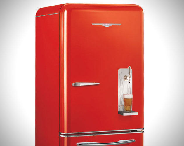 Le Meilleur Retro Refrigerator With Built In Draft System Ce Mois Ci