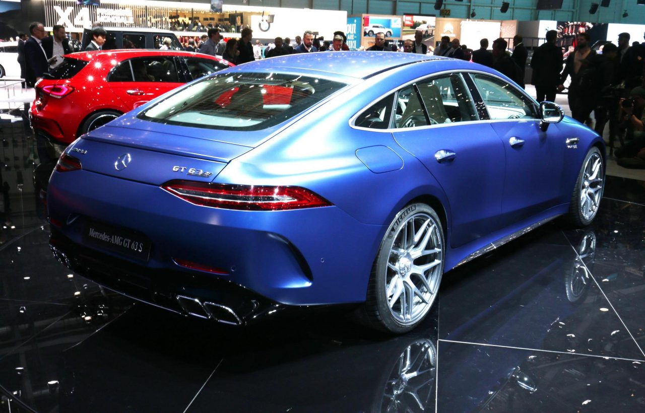 Le Meilleur 2019 Mercedes Amg Gt 4 Door Coupe Says Hello At Geneva Ce Mois Ci