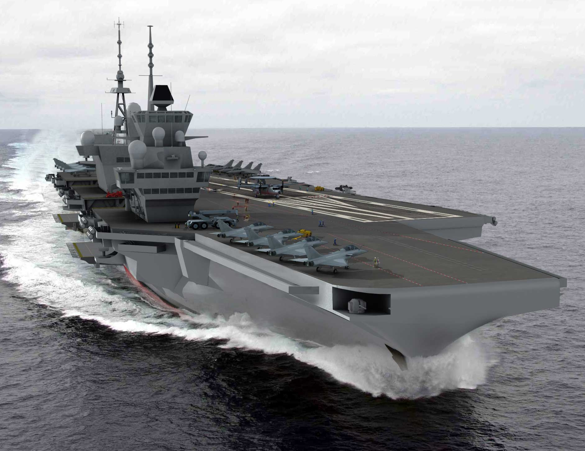 Le Meilleur France To Launch Studies For A New Aircraft Carrier Dcss Ce Mois Ci