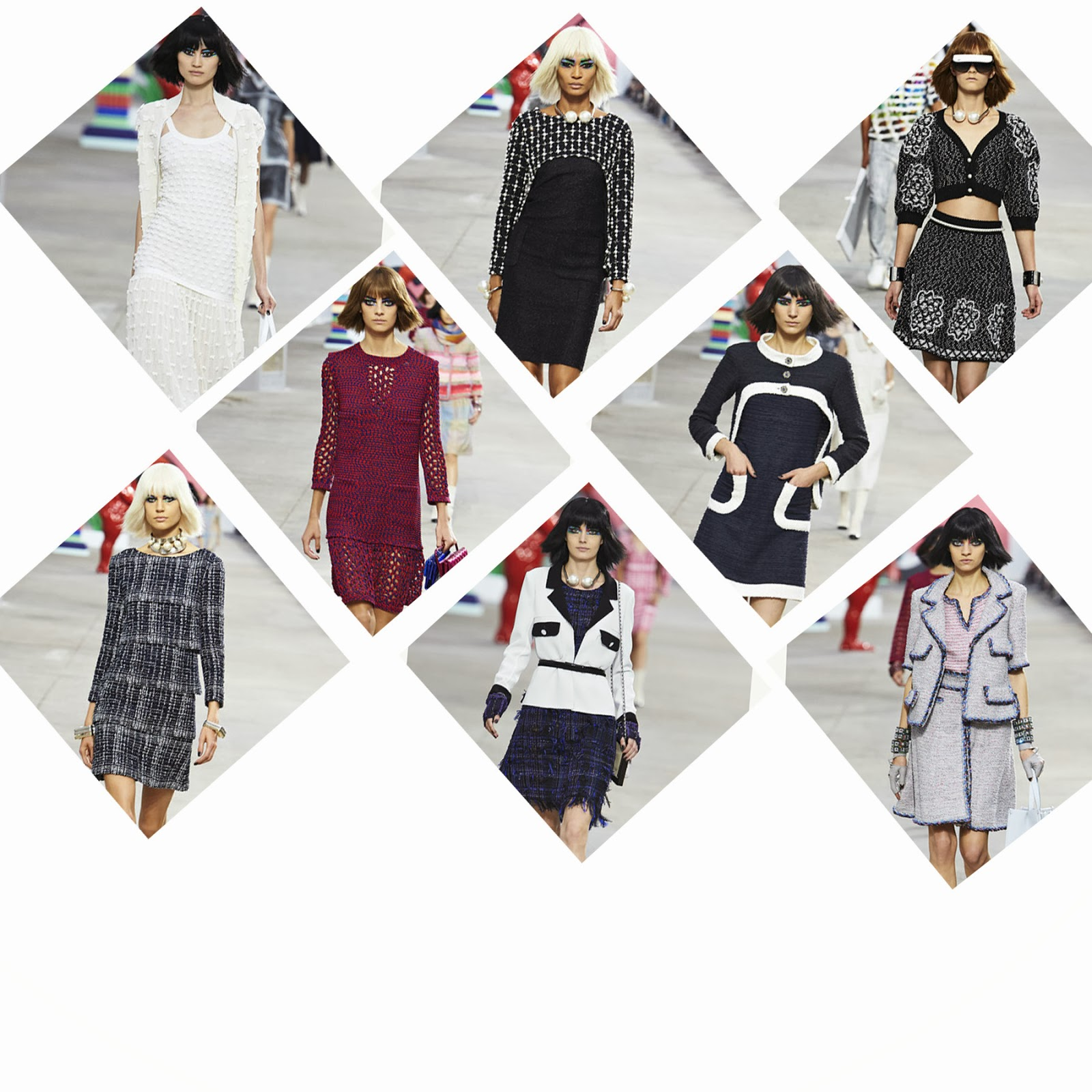Le Meilleur Chanel Pret A Porter Ss2014 New Gal On The Blog Ce Mois Ci