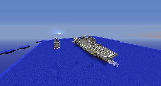 Le Meilleur Uss Navy In Minecraft Battleship Remake Minecraft Project Ce Mois Ci