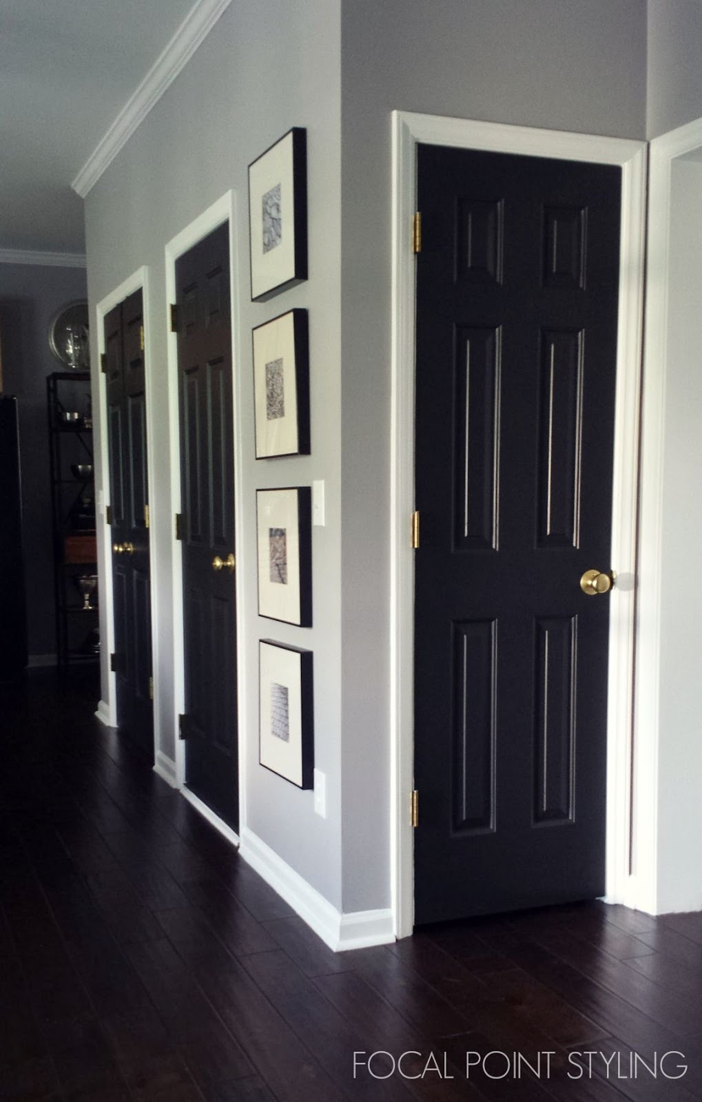 Le Meilleur Focal Point Styling How To Paint Interior Doors Black Ce Mois Ci