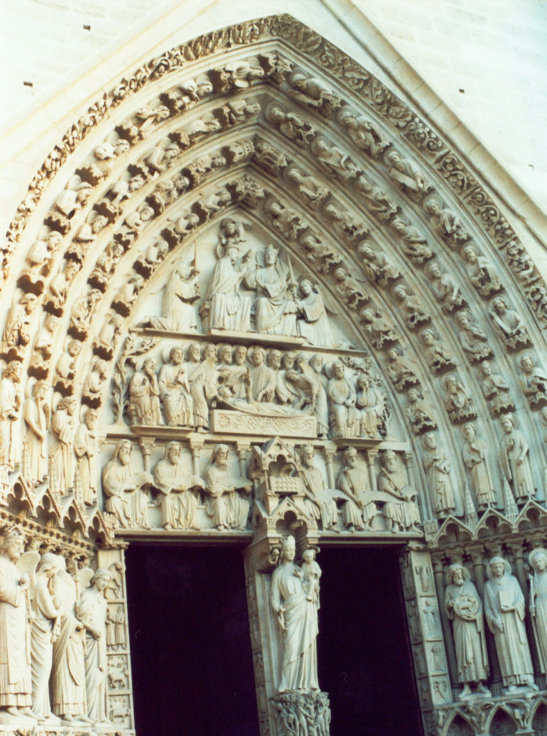 Le Meilleur Photograph Main Doorway At Notre Dame The Faithful Word Org Ce Mois Ci
