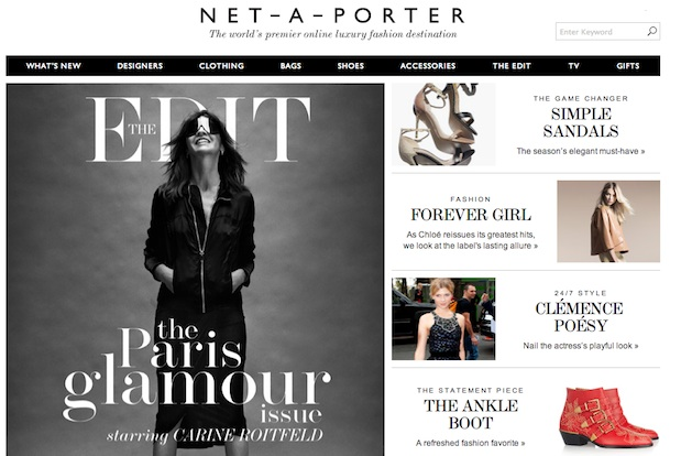 Le Meilleur Net A Porter May Find It Difficult To Cross The Great Tax Ce Mois Ci