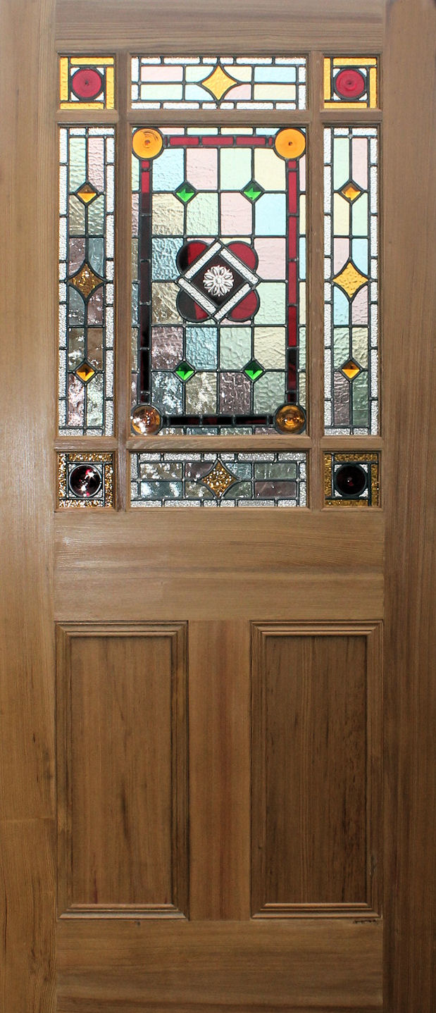 Le Meilleur New Stained Glass Internal Doors In Edwardian And Ce Mois Ci