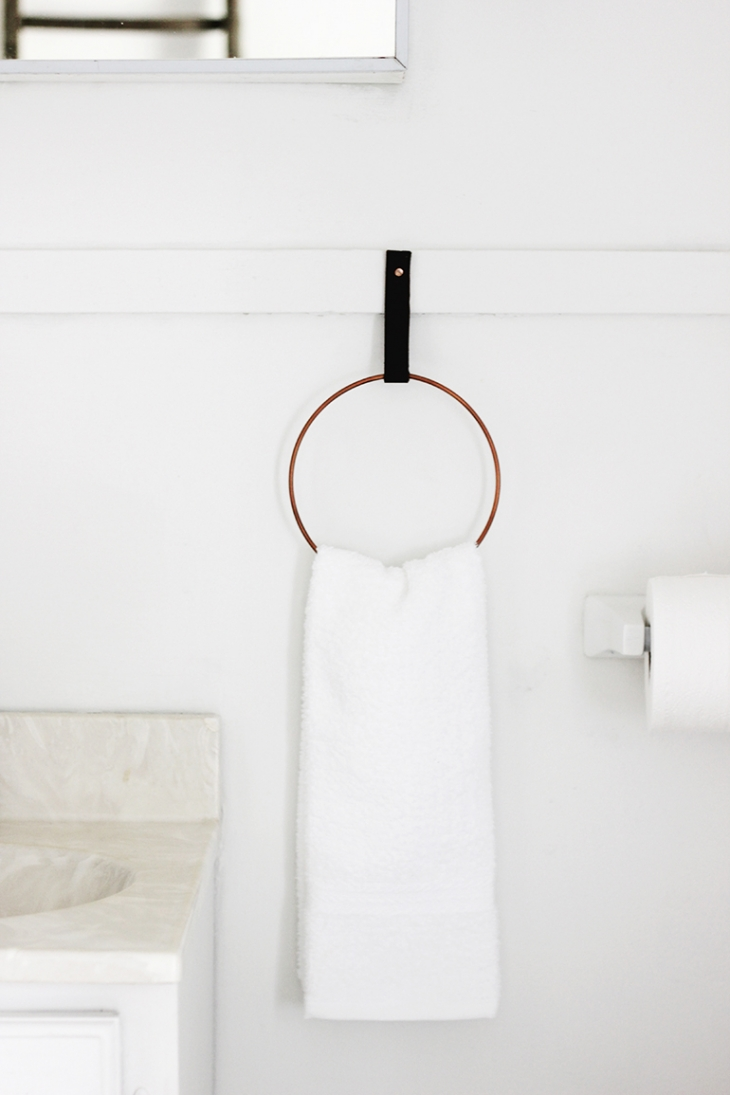 Le Meilleur Diy Hand Towel Ring » The Merrythought Ce Mois Ci