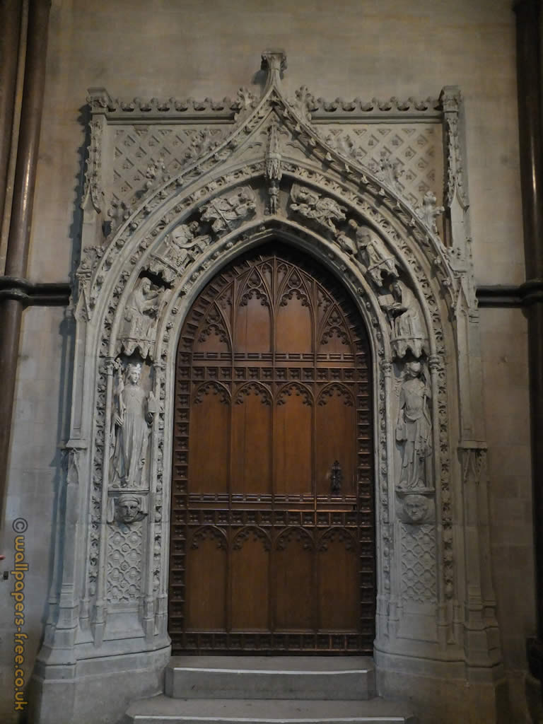 Le Meilleur Decorative Medieval Door In Rochester Cathedral Medieval Ce Mois Ci