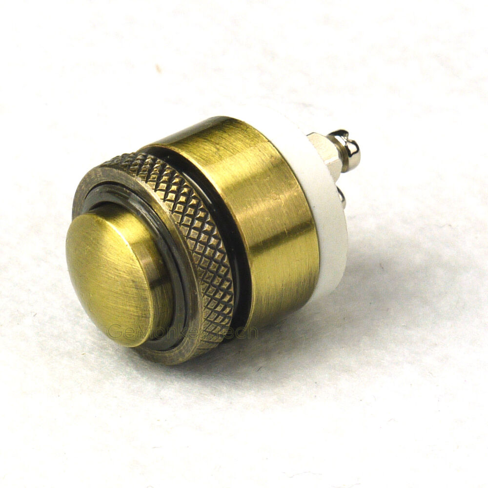 Le Meilleur 16Mm Momentary Brass Metal Push Button Door Bell Switch Ebay Ce Mois Ci