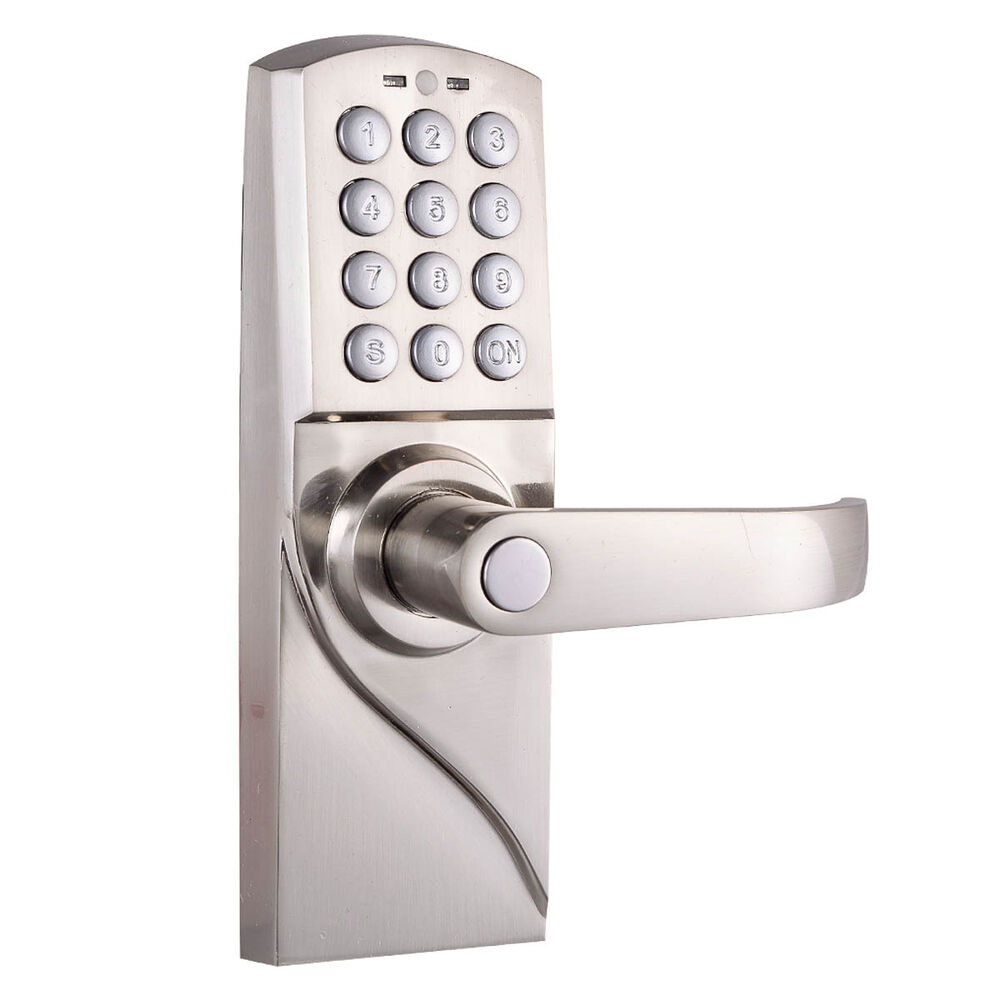 Le Meilleur Digital Electronic Code Keyless Keypad Security Entry Door Ce Mois Ci