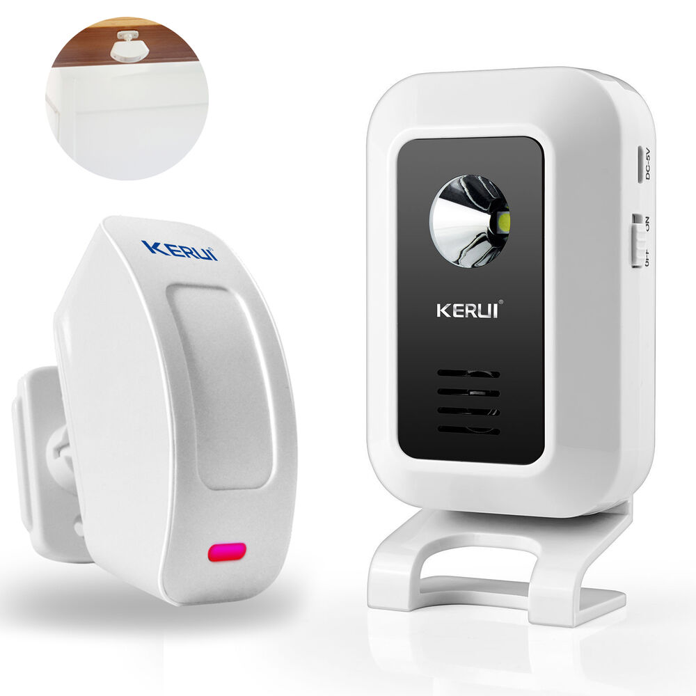 Le Meilleur Welcome Chime Wireless Infrared Pir Motion Sensor Door Ce Mois Ci