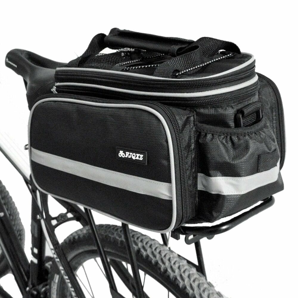 Le Meilleur Bike Rack Top Bag Luggage Storage Bicycle Insulated Black Ce Mois Ci