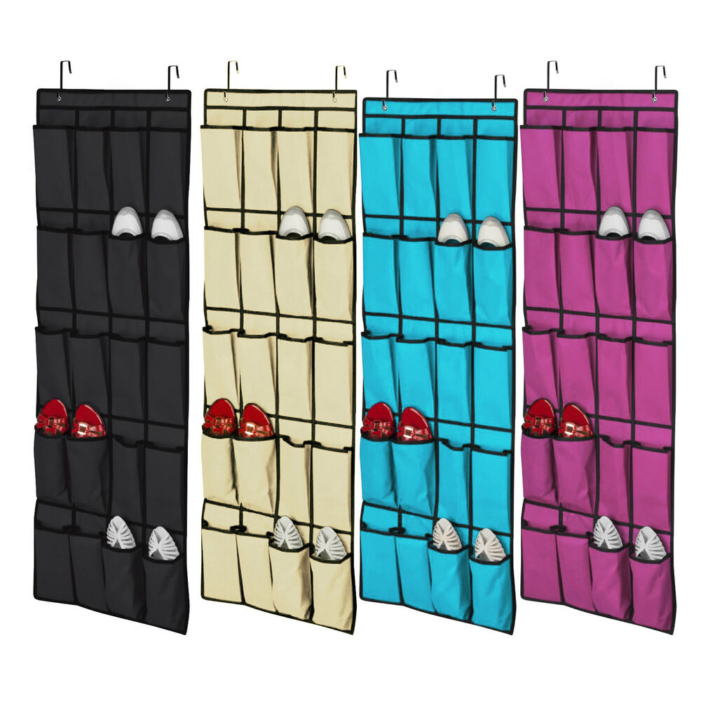 Le Meilleur 20 Pocket Over The Door Shoe Organizer Space Saver Rack Ce Mois Ci