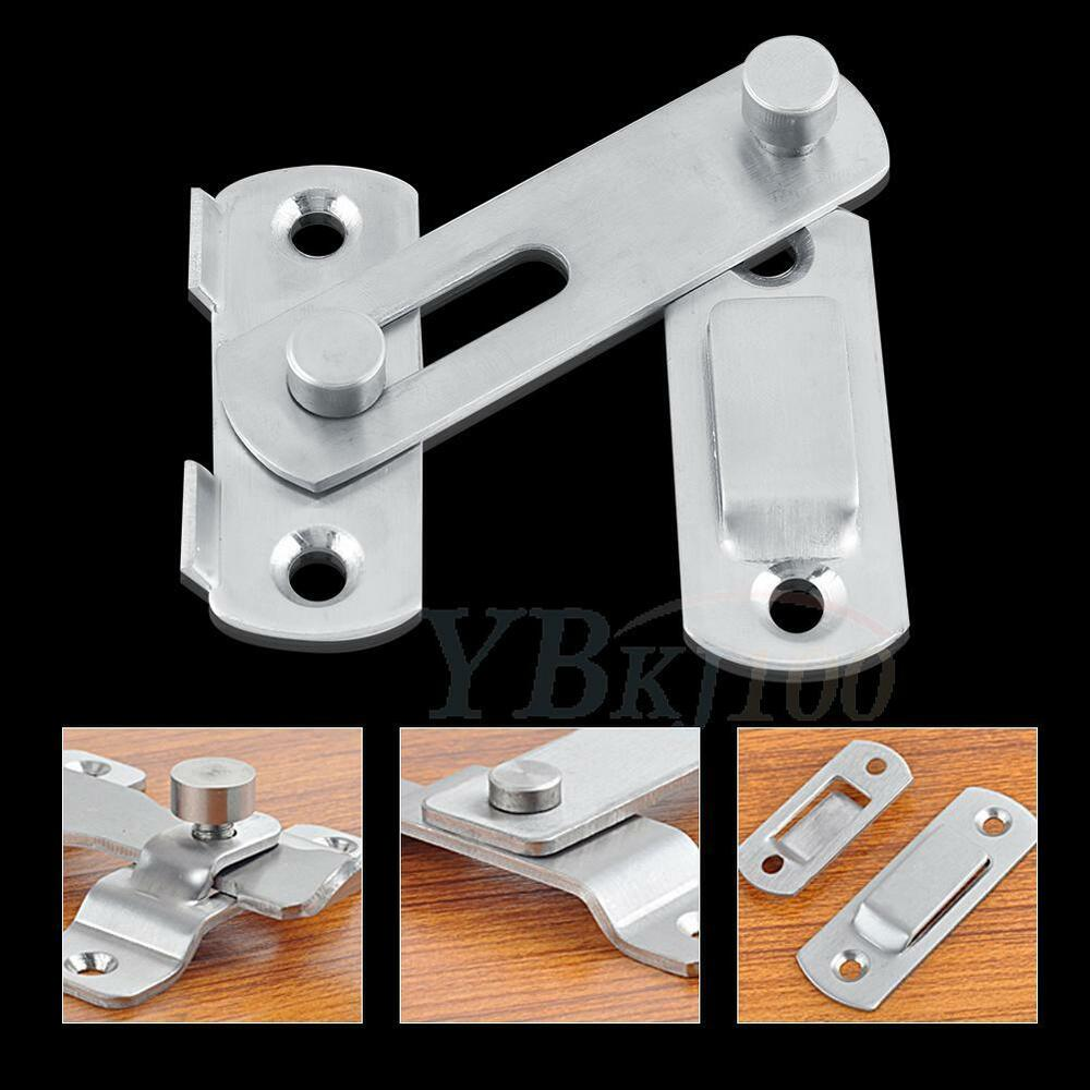 Le Meilleur Stainless Steel Lock For Sliding Barn Wood Door Hardware Ce Mois Ci