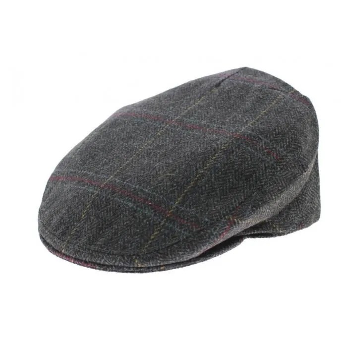Le Meilleur Casquette Plate Anglaise Hereford Tweed Olney Gris Achat Ce Mois Ci