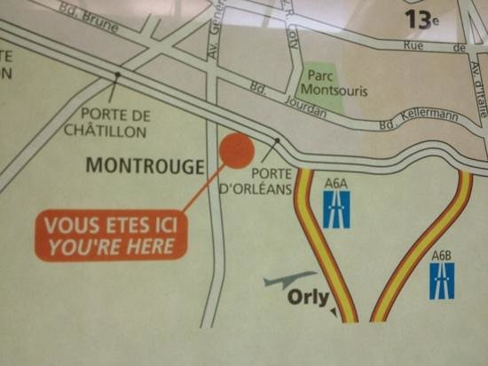 Le Meilleur Location Map Picture Of Mercure Paris Porte D Orleans Ce Mois Ci