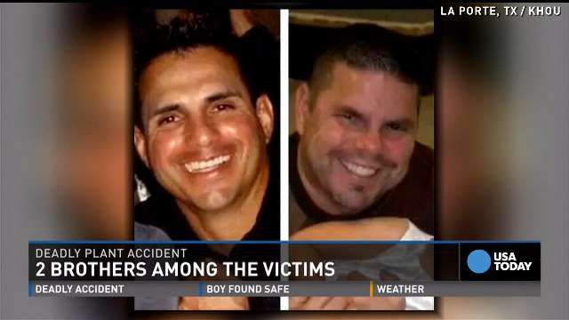 Le Meilleur Two Brothers Among Four Killed In Texas Chemical Leak Ce Mois Ci