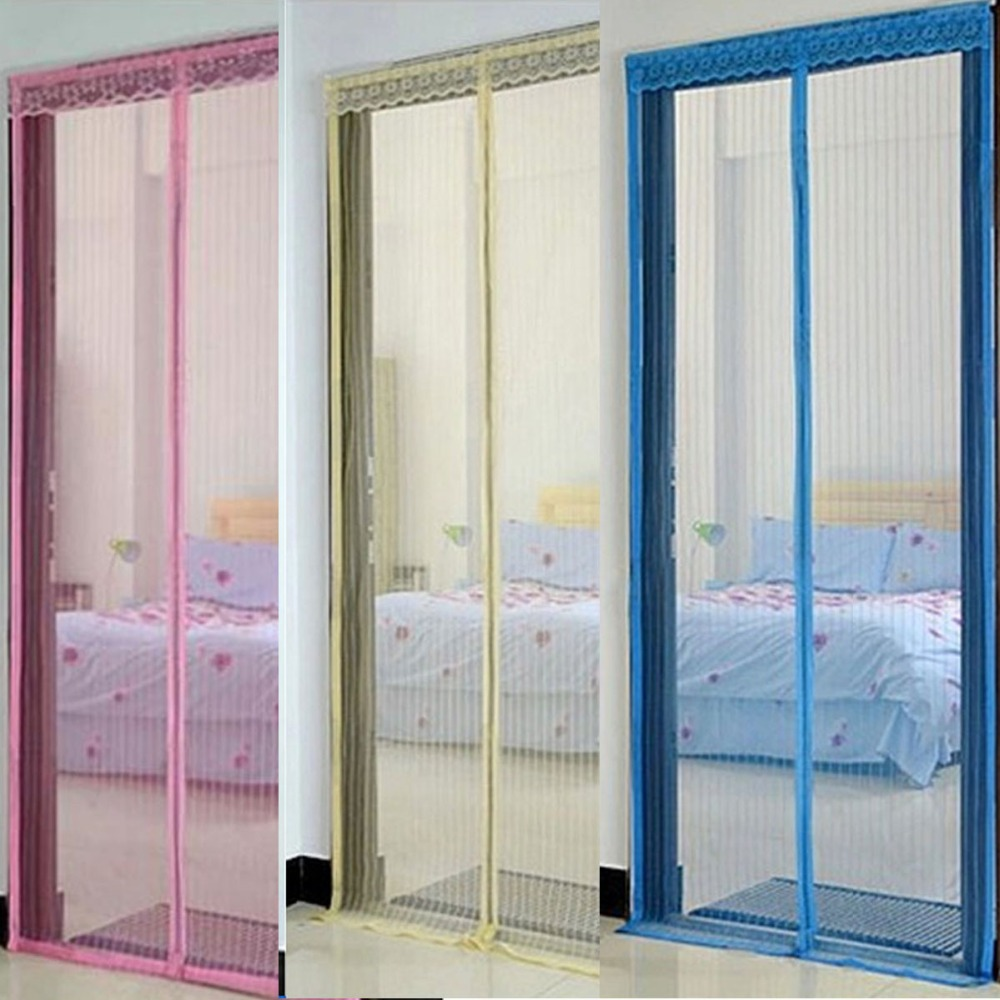 Le Meilleur Summer Mosquito Curtain Portiere Screen Door Magnetic Ce Mois Ci