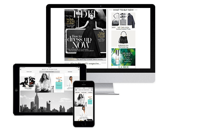Le Meilleur Net A Porter A Case Of Seamless Integrated Marketing Part Ce Mois Ci