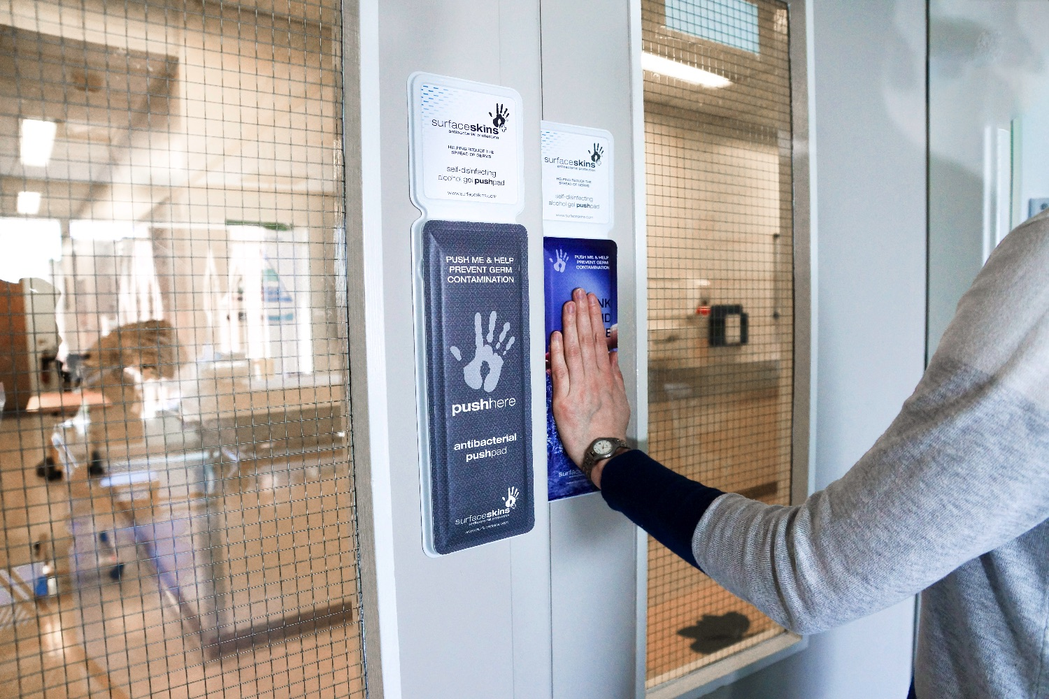 Le Meilleur Self Disinfecting Door Pad Could Help Break The Spread Of Ce Mois Ci