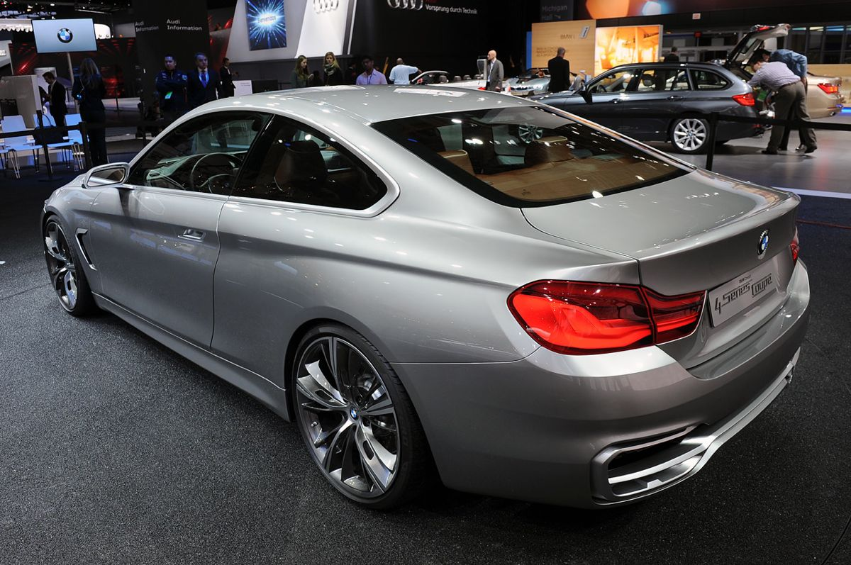 Le Meilleur Bmw 4 Series Coupe Concept Premieres In Detroit Photos Ce Mois Ci