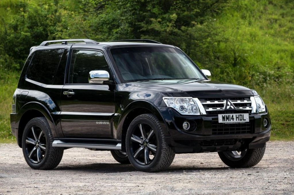 Le Meilleur The New Mitsubishi Shogun Swb Barbarian Gets Revealed Ce Mois Ci