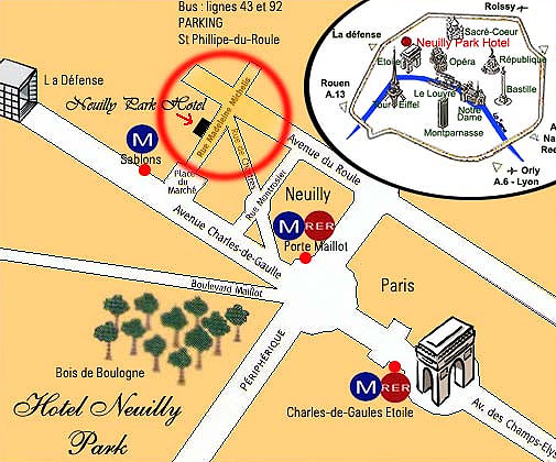 Le Meilleur Hotel Neuilly Park Paris Near The Arch Of Triumph And The Ce Mois Ci