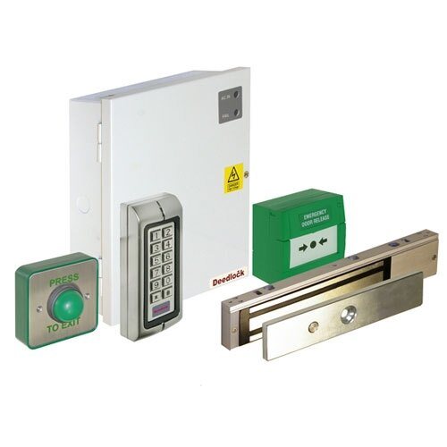 Le Meilleur Access Control Maglock Kit With Push Button Keypad And Ce Mois Ci