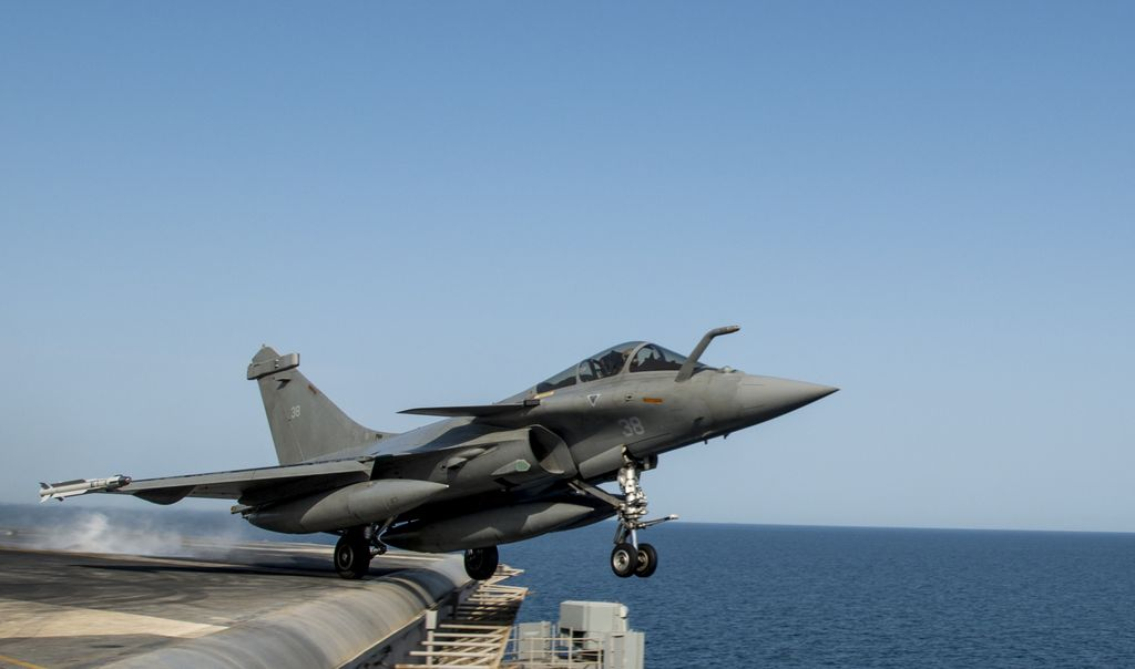 Le Meilleur The Aviationist » French Rafale Omnirole Fighter Jet Ce Mois Ci