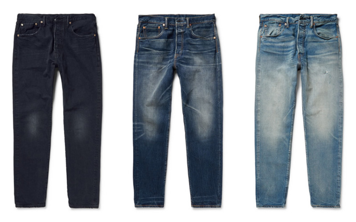 Le Meilleur Levi S 501 Ct Jeans For Mr Porter Acquire Ce Mois Ci
