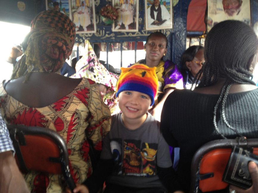 Le Meilleur In Senegal Catching A Ride With Four Different Bus Ce Mois Ci
