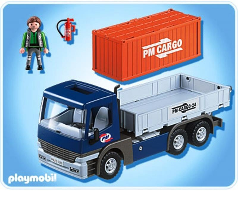 Le Meilleur Playmobil Cargo Truck With Container 5255 Table Mountain Ce Mois Ci