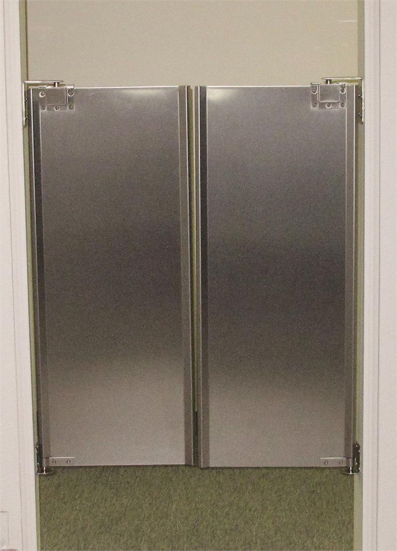 Le Meilleur Cafe Doors Stainless Steel Double Door In Stock Swinging Ce Mois Ci