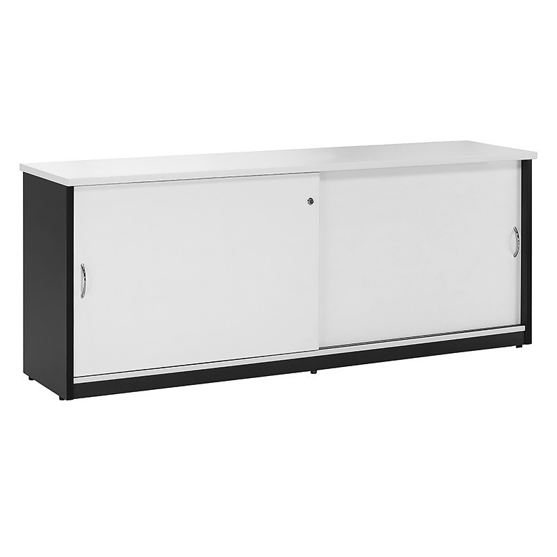 Le Meilleur Chill Sliding Door Credenza Fast Office Furniture Ce Mois Ci