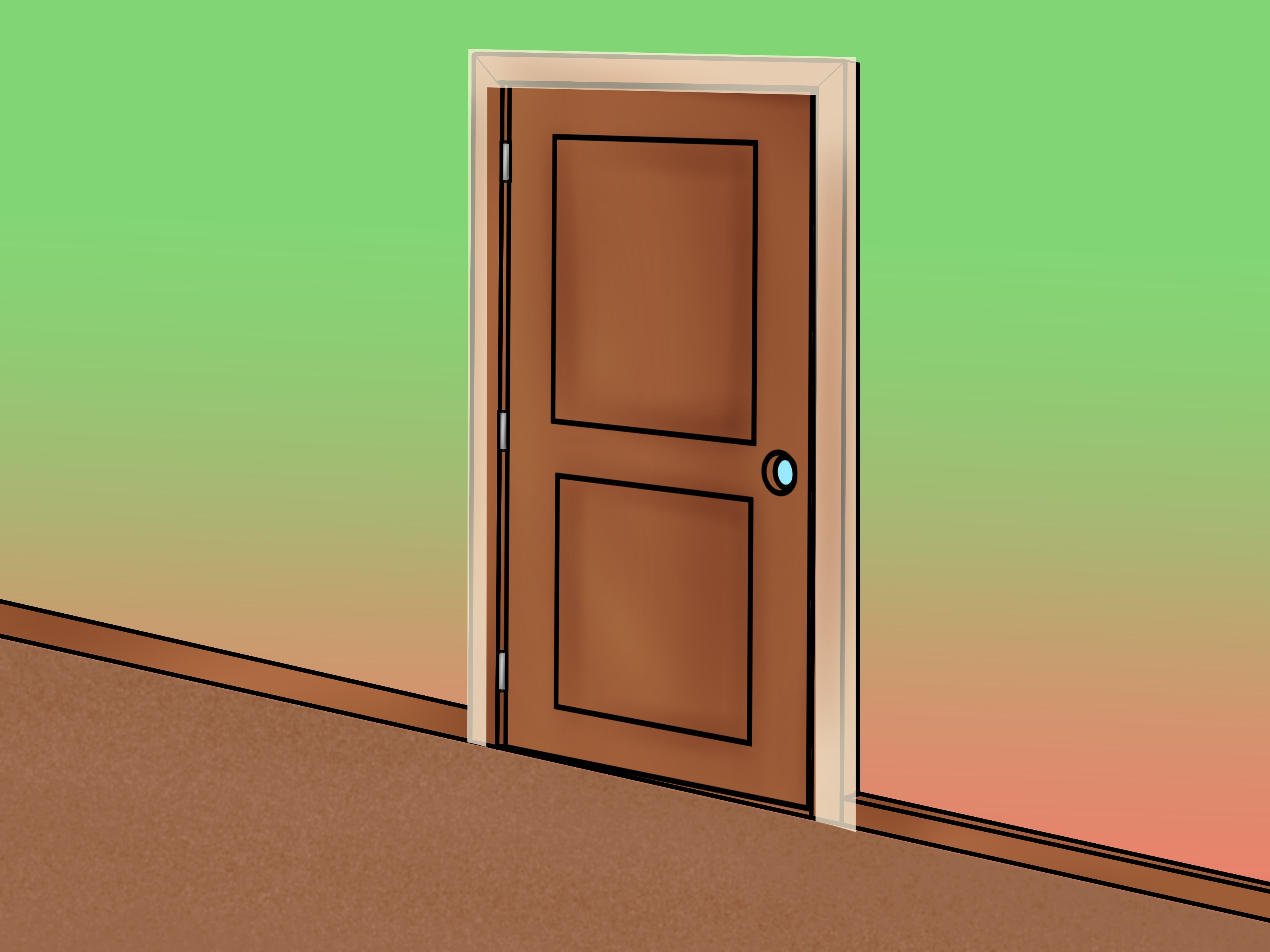 Le Meilleur How To Install An Exterior Door 14 Steps With Pictures Ce Mois Ci
