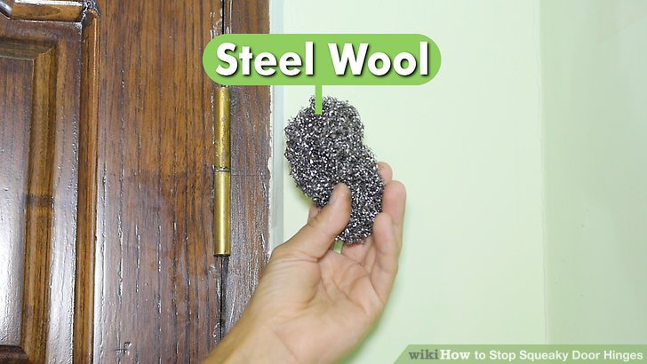 Le Meilleur 3 Ways To Stop Squeaky Door Hinges Wikihow Ce Mois Ci