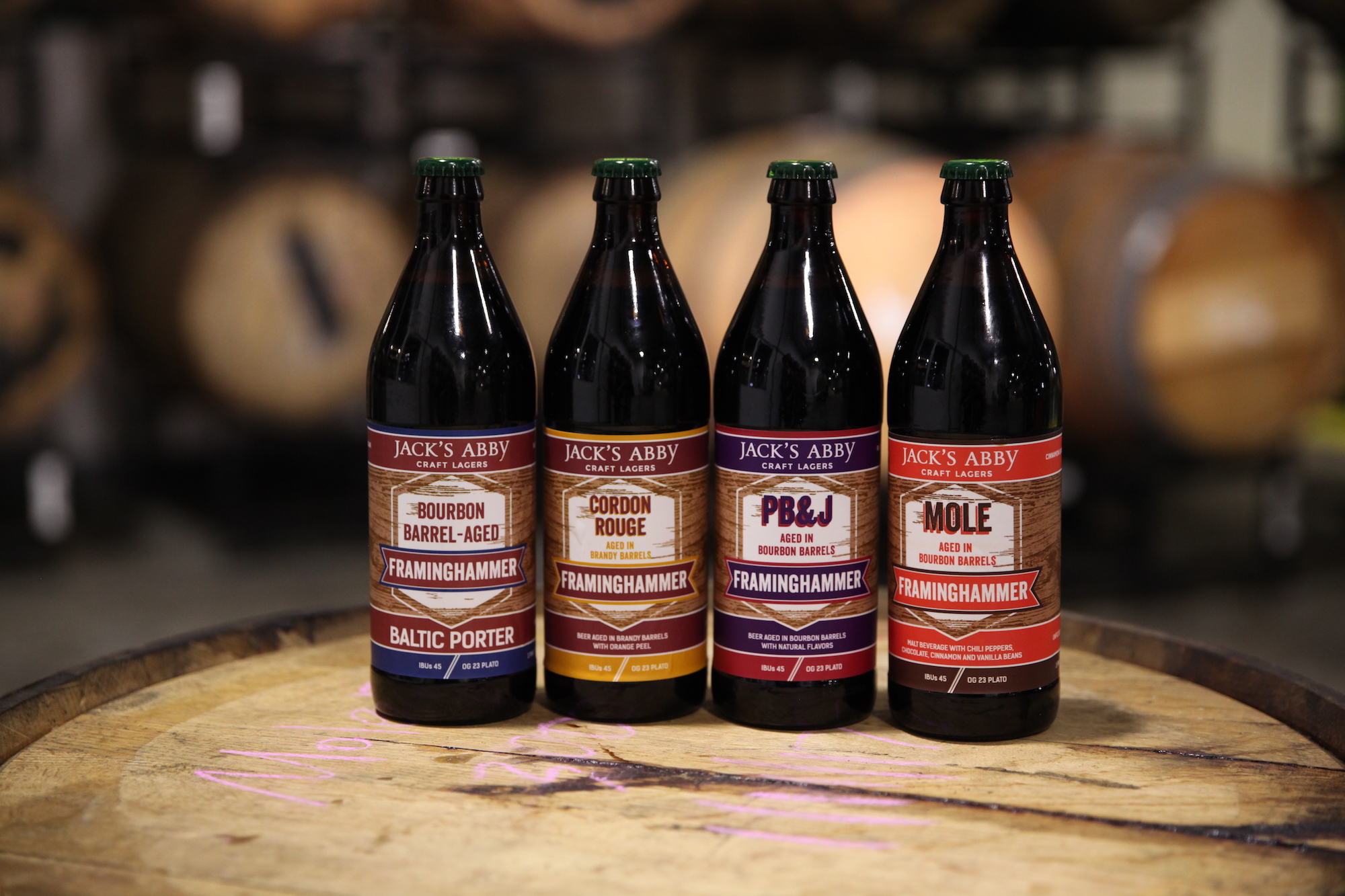Le Meilleur How One Mass Brewery Puts Mom S Pb J Into A Barrel Aged Ce Mois Ci