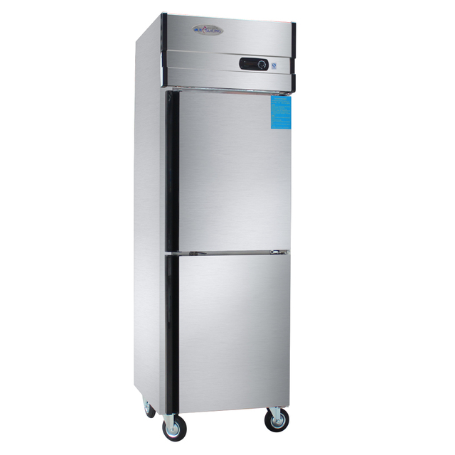 Le Meilleur 2 Door Stainless Steel Commercial Refrigerator Kitchen Ce Mois Ci