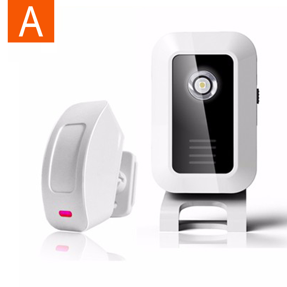 Le Meilleur Welcome Chime Wireless Device Pir Motion Sensor Bell Alarm Ce Mois Ci
