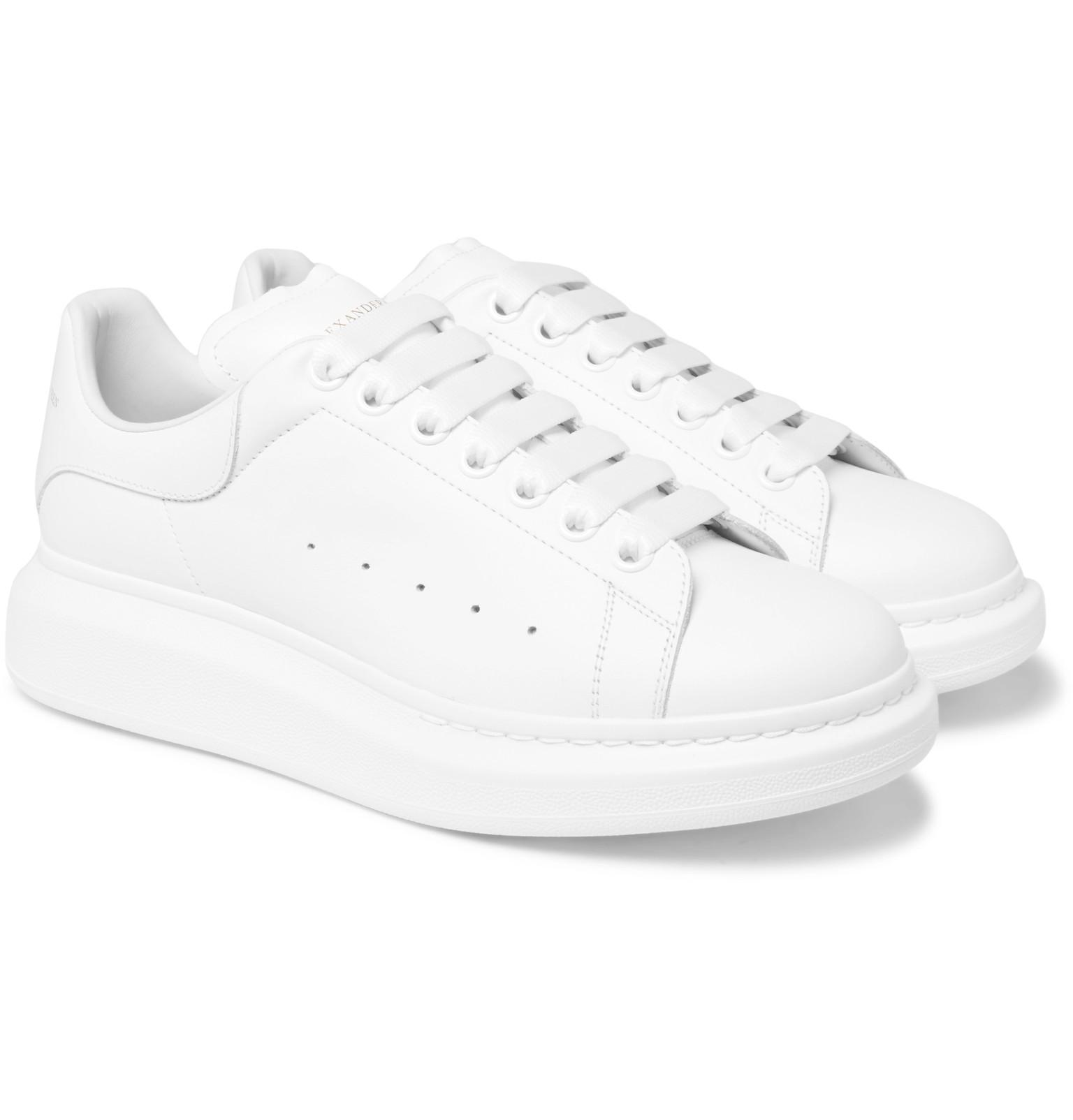 Le Meilleur Alexander Mcqueen Exaggerated Sole Sneakers In White For Ce Mois Ci