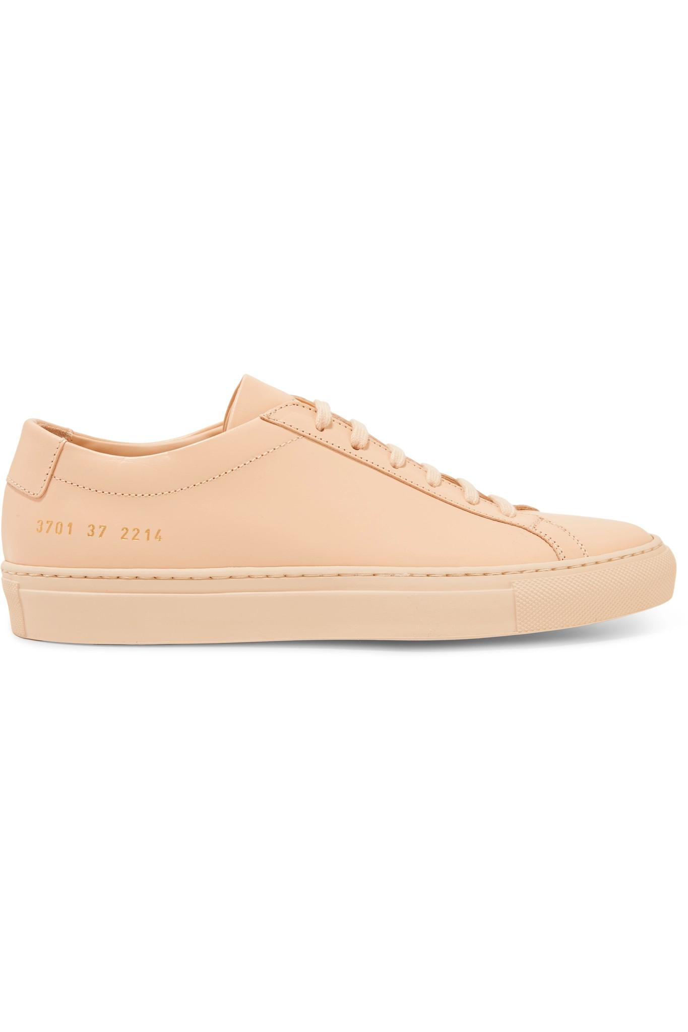 Le Meilleur Common Projects Original Achilles Leather Sneakers In Ce Mois Ci