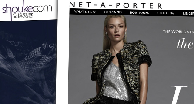 Le Meilleur Uk E Tailer Net A Porter Ready To Buy Its Way Into Chinese Ce Mois Ci