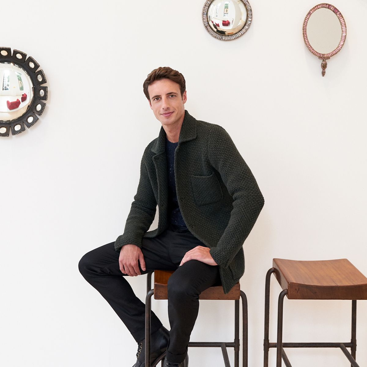 Le Meilleur Phillips Featured On Mr Porter Henry Highley Talks Art Ce Mois Ci