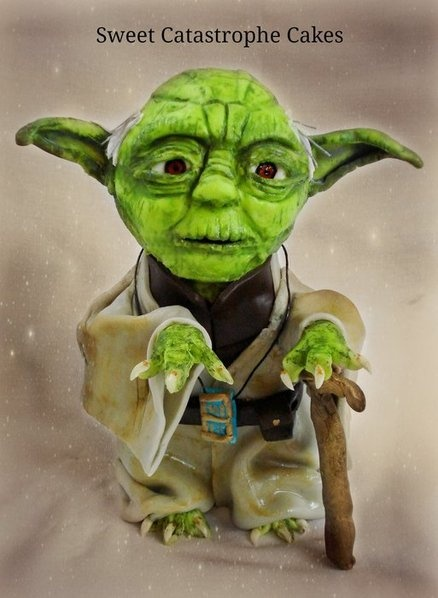 Le Meilleur Jedi Master Yoda Cake By Sweet Catastrophe Cakes My Ce Mois Ci