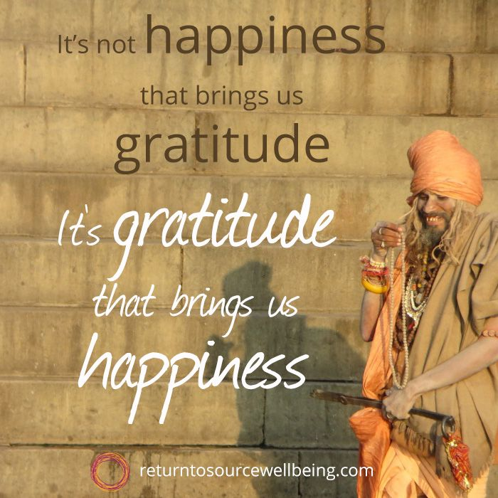Le Meilleur Quote On Happiness Gratitude It S Not Happiness That Ce Mois Ci