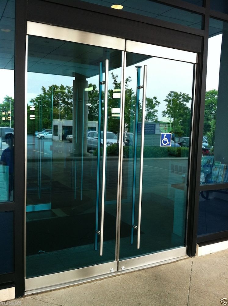 Le Meilleur Stainless Steel Entry Entrance Store Front Frameless Glass Ce Mois Ci