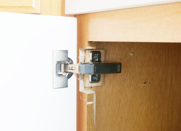 Le Meilleur Exposed Hinge To Hidden Hinge Updating Cabinets Ce Mois Ci
