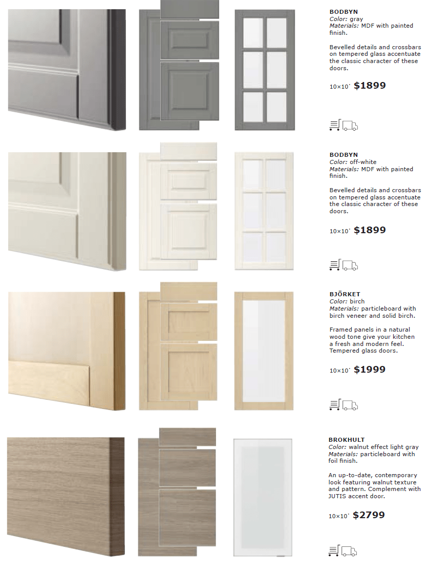 Le Meilleur Ikea Sektion Cabinet Doors And Drawer Fronts 3 1864 Ce Mois Ci