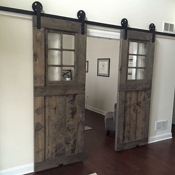 Le Meilleur Reserved For Mark Custom Window Barn Door Pantry Ce Mois Ci