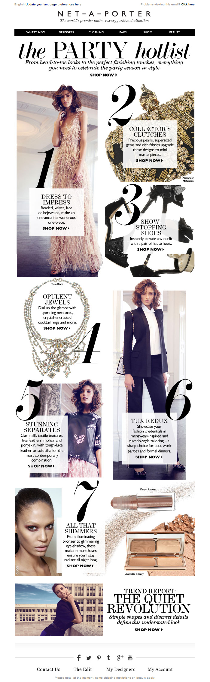 Le Meilleur Newsletter Net A Porter 11 2013 7 Steps To Perfecting Ce Mois Ci